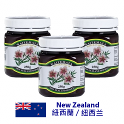 DFF2U WAITEMATA 麥盧卡蜂蜜 UMF ® 20+ (250克X3)