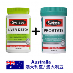 DFF2U Swisse Ultiboost 奶薊草護肝排毒片120片 + Swisse Ultiboost 前列腺50片