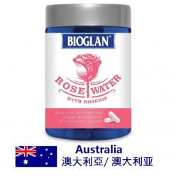 DFF2U Bioglan Rose Water with Rosehip 60 Capsules