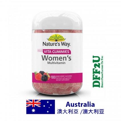 Nature's Way Vita Gummies Adult Womens Multivitamin - 100 pastilles