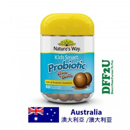 Nature's Ways Kids Smart Probiotic Choc Balls
