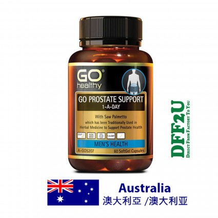 DFF2U GO Healthy Go Prostate Support 1 A Day 60 Softgel Capsules