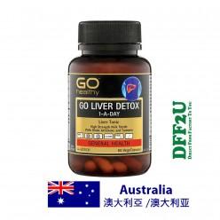DFF2U GO Healthy Liver Detox 1 A Day 60 Capsules