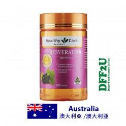DFF2U Healthy Care Resveratrol 180 Capsules
