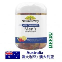 DFF2U Nature's Way Men's Multi-Vitamin Vita Gummies - 100 pastilles