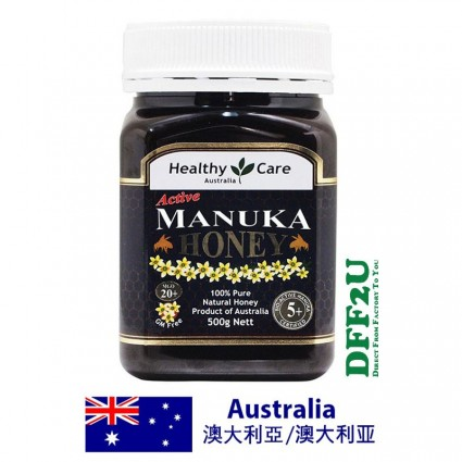 Healthy Care Manuka Honey MGO 20+ 5+ 500g