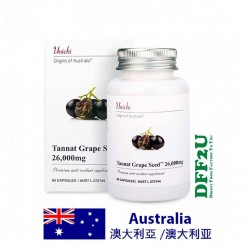 DFF2U Unichi Tannat Grape Seed 26000mg 60 Capsules