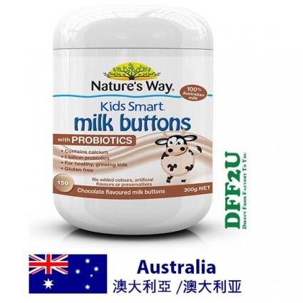 Nature's Way Kids Smart Milk Buttons with Probiotics