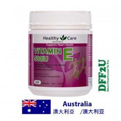 DFF2U Healthy Care Vitamin E 500IU 200 Capsules