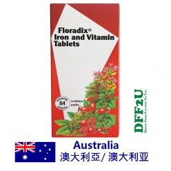 DFF2U Floradix Iron & Vitamin 84 Tablets