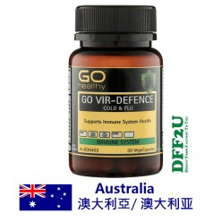 DFF2U GO Healthy Vir Defence 30 Vege Capsules