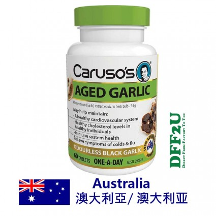 DFF2U Carusos One a Day Aged Garlic Odourless 60 Tablets