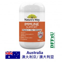 DFF2U Nature's Way Immune Support 100 Tablets