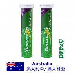 DFF2U Berocca Energy Vitamin Raspberry Blackcurrant Effervescent Tablets 30 pack