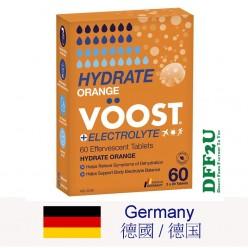 DFF2U Voost Hydrate Orange Effervescent Tablets 60 Pack