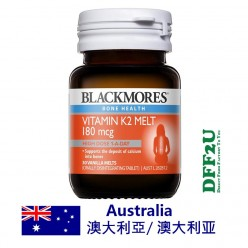 DFF2U Blackmores K2 180mcg 30 Melts