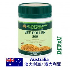 DFF2U Australian by Nature Bee Pollen 500mg 180 Capsules