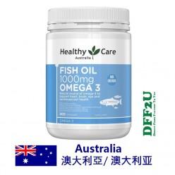 DFF2U Healthy Care鱼油1000毫克Omega-3 400粒