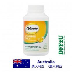DFF2U Caltrate 维生素D 1000iu - 300胶囊 优惠装
