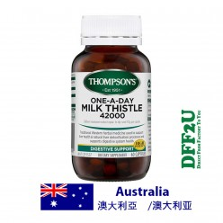 DFF2U Thompson's One-a-day Milk Thistle 42000mg -60 Capsules