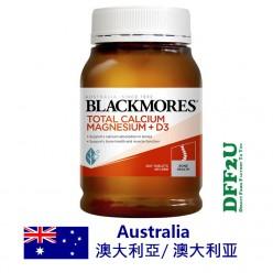 DFF2U Blackmores Total Calcium Magnesium + D3 200 Tablets