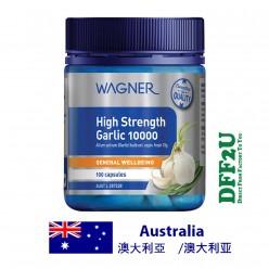 DFF2U Wagner High Strength Garlic 10000 -100 Capsules