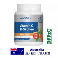 DFF2U Wagner Vitamin C 1000 Chewable 250 Tablets
