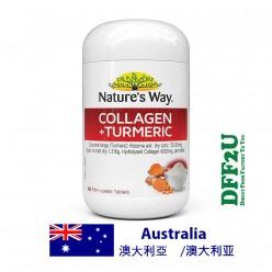DFF2U Nature's Way Collagen Plus Turmeric 60 Tablets