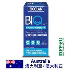 DFF2U Bioglan Biohappy Sports Probiotic 30 Capsules