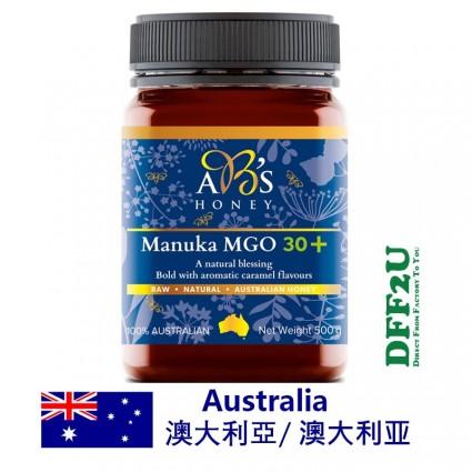 DFF2U ABs Manuka Honey MGO 30+ 500g
