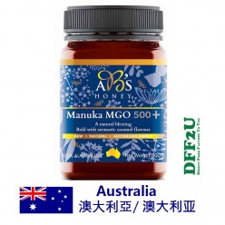 DFF2U ABs Manuka Honey MGO 500+ 500g