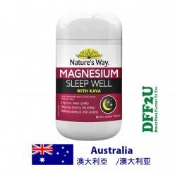 DFF2U Nature's Way Magnesium Sleep Well 60 Tablets