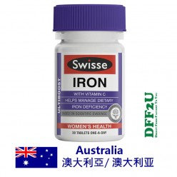DFF2U Swisse Ultiboost Iron 30 Tablets