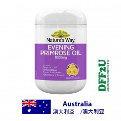 DFF2U Nature's Way Evening Primrose Oil 200 Soft Capsules