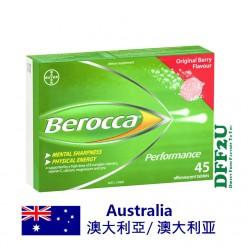 DFF2U Berocca Energy Vitamin Original Berry Effervescent Tablets 45 pack