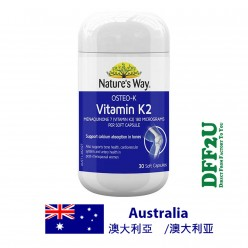 DFF2U Nature's Way Osteo-K Vitamin K2 180mcg - 30 Soft Capsules