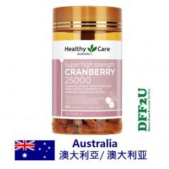 DFF2U Healthy Care超强度蔓越莓25000毫克90粒