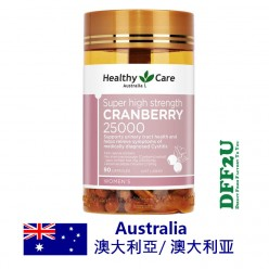 DFF2U Healthy Care Super Cranberry 25000mg 90 Capsules