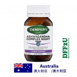 DFF2U Thompson's Ashwagandha Complex Night 60 Tablets