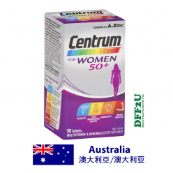DFF2U Centrum For Women 50+ 90 Tablets