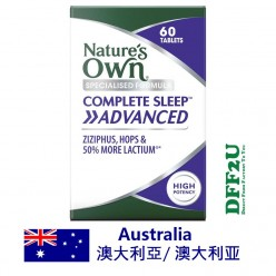 DFF2U Nature's Own Complete Sleep Advanced 60 Tablets