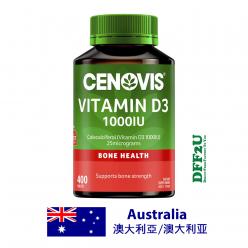 DFF2U Cenovis Vitamin D3 1000IU - Vitamin D - 400 Tablets Exclusive Size