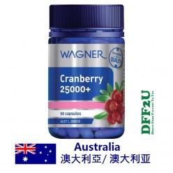 DFF2U Wagner Cranberry 25000+ 90 Capsules