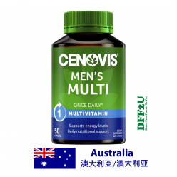 DFF2U Cenovis Men's Multi - Once-Daily Multivitamin - 50 Capsules