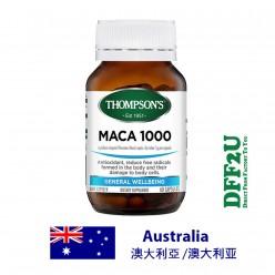 DFF2U Thompson's Maca 1000 - 60 Capsules