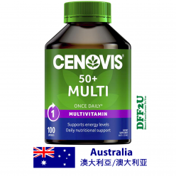 DFF2U Cenovis 50+ Multi - Once-Daily Multivitamin - 100 Capsules