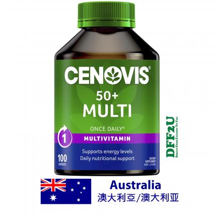 DFF2U Cenovis 50+ Multi - Once-Daily Multivitamin - 100 Capsules