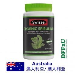 DFF2U Swisse Organic Spirulina 100 Tablets