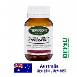 DFF2U Thompson's Ultra Strength Resveratrol - 60 Tablets