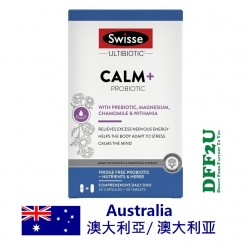 Swisse Ultibiotic Calm + Probiotic 30 Capsules + 30 Tablets